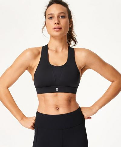 All Train Sports Bra, Black | Sweaty Betty