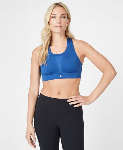 All Train Sports Bra, Blue Quartz | Sweaty Betty
