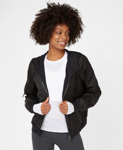 Parade Jacket, Black | Sweaty Betty