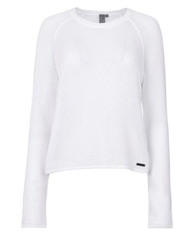Idol Knitted Top, White | Sweaty Betty