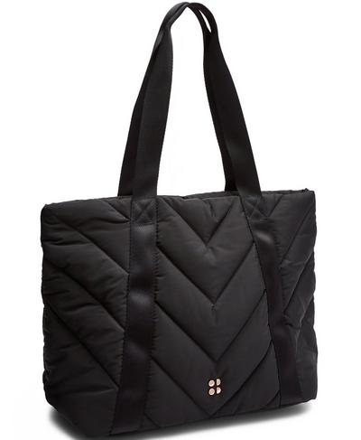 Icon Quilted Everyday Bag, Black | Sweaty Betty