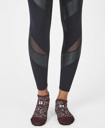 Sneaker Liners, Work Hard Play Harder Print | Sweaty Betty