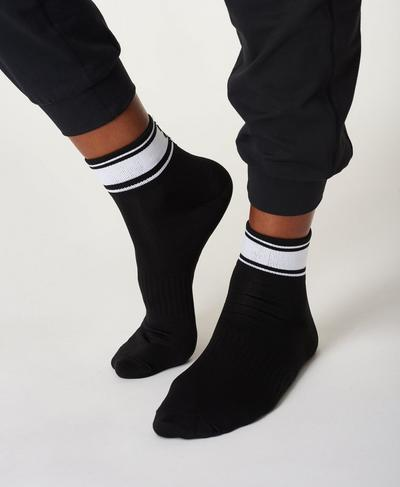 Ankle Socks, Black | Sweaty Betty