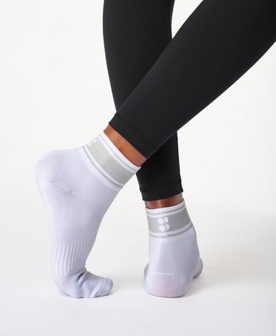 Ankle Socks, White | Sweaty Betty