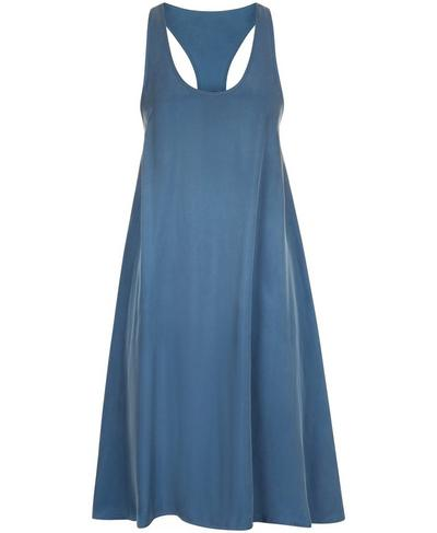 Dragonfly Dress, Washed Navy | Sweaty Betty