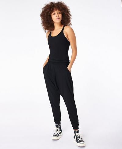 Beautify Jumpsuit, Black   Sweaty Betty
