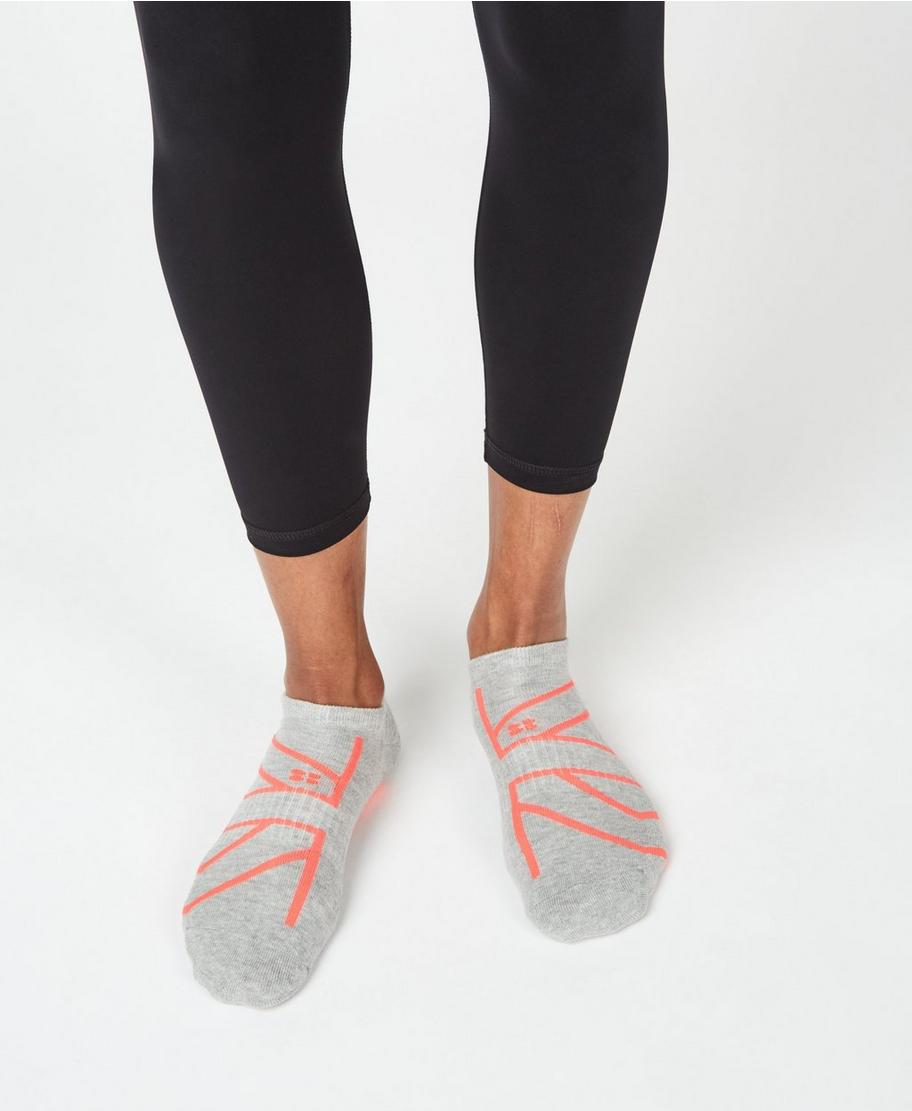 af6a4e67 Trainer Liners - Fluro Flash Union Jack | Women's Sports Socks | Sweaty  Betty