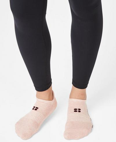 Sneaker Liners, Liberated Pink Slogan | Sweaty Betty