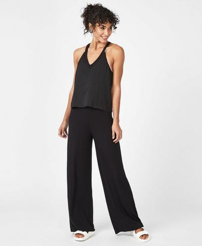Gratitude Jumpsuit, Black | Sweaty Betty