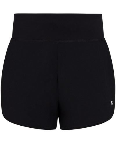 "Time Trial 3.5"" Running Shorts, Black 