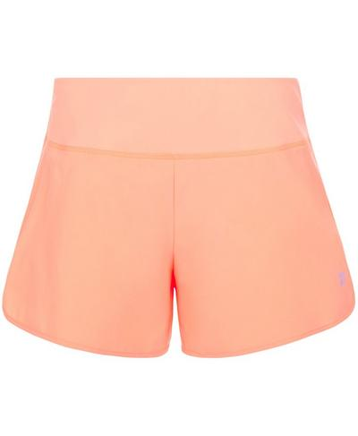 """Time Trial 2"""" Running Shorts, Passion Coral 