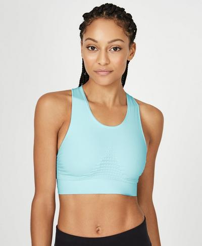 Stamina Sports Bra, Angel Blue | Sweaty Betty