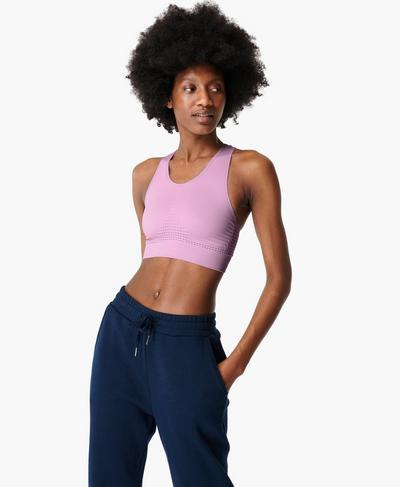 Stamina Sports Bra, Aster Purple | Sweaty Betty