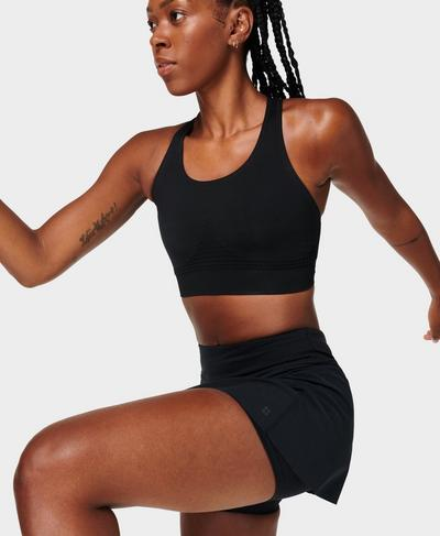 Stamina Sports Bra, Black A | Sweaty Betty