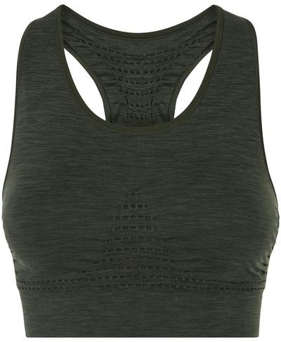 Stamina Sports Bra, Dark Forest A | Sweaty Betty