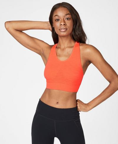 Stamina Sports Bra, Fluro Flash | Sweaty Betty