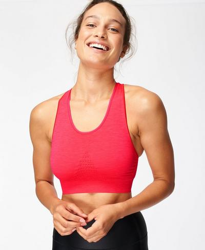 Stamina Sports Bra, Lipstick Red | Sweaty Betty