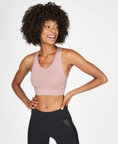 Stamina Sports Bra, Velvet Rose | Sweaty Betty