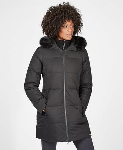 North Pole Primaloft Jacket, Black | Sweaty Betty