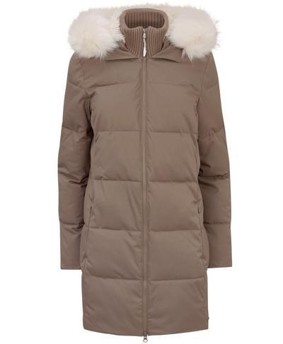 North Pole Primaloft Jacket, Dark Taupe | Sweaty Betty