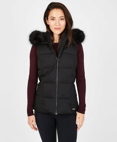 North Pole Primaloft Vest, Black | Sweaty Betty