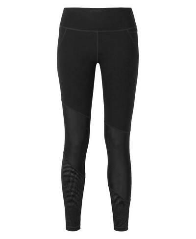 Power Mesh 7/8 Workout Leggings, Black | Sweaty Betty