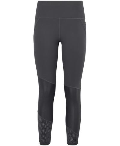 Power Mesh 7/8 Workout Leggings, Slate Grey | Sweaty Betty