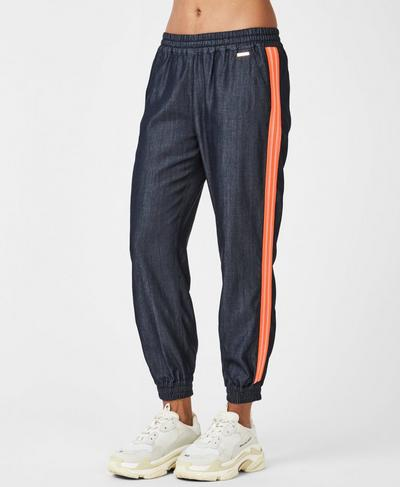 Twilight Sport 7/8 Trousers, Indigo Denim | Sweaty Betty