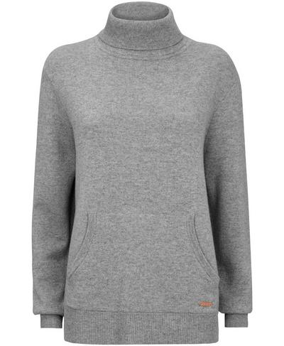 Hampstead Jumper, Light Grey Marl | Sweaty Betty