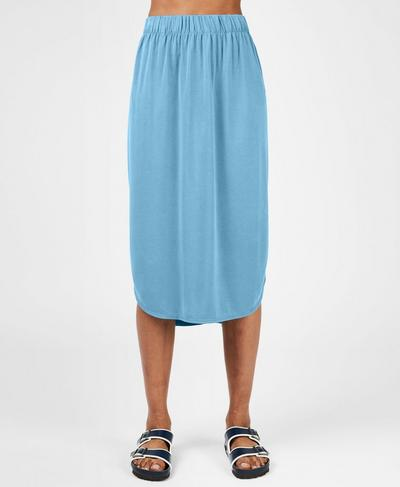 Bloom Skirt, Stellar Blue | Sweaty Betty