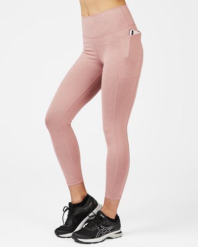 Super Sculpt High Waisted 7/8 Yoga Leggings, Velvet Rose Pink | Sweaty Betty