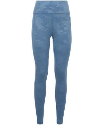 Super Sculpt High Waisted 7/8 Yoga Leggings, Stellar Blue | Sweaty Betty