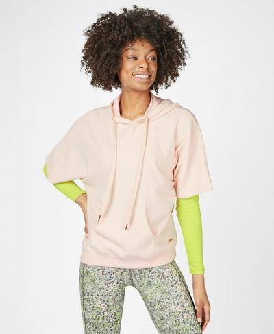 Cool Down Luxe Hoodie, Liberated Pink | Sweaty Betty