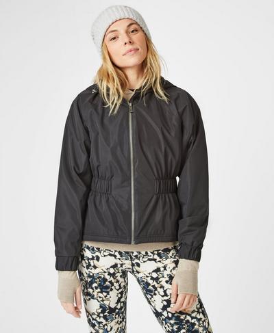 Storm Seeker Waterproof Jacket, Black | Sweaty Betty