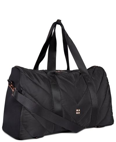 Icon Quilted Holdall, Black | Sweaty Betty