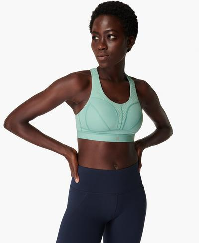 Victory Sports Bra, Algarve Green | Sweaty Betty