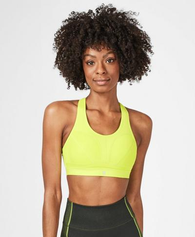 Victory Sports Bra, Lime Punch Green | Sweaty Betty