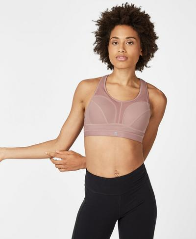 Victory Sports Bra, Velvet Rose | Sweaty Betty