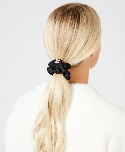 Scrunchie, Black | Sweaty Betty