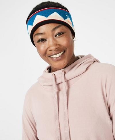 Retro Ski Headband, Betty Fairisle Jacquard | Sweaty Betty
