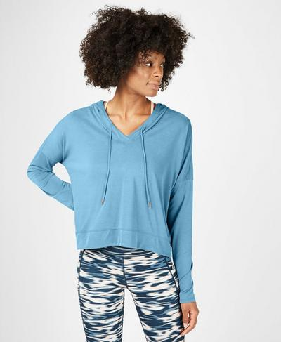 Peaceful Hoodie, Stellar Blue | Sweaty Betty