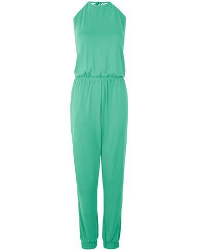 Open Back Racer Jumpsuit, Lime Gello Green | Sweaty Betty