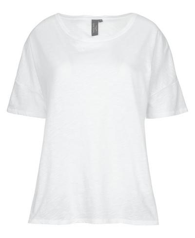 Handkerchief Hem T-shirt, White | Sweaty Betty