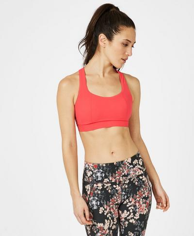 Circuit Sports Bra, Tulip Red | Sweaty Betty