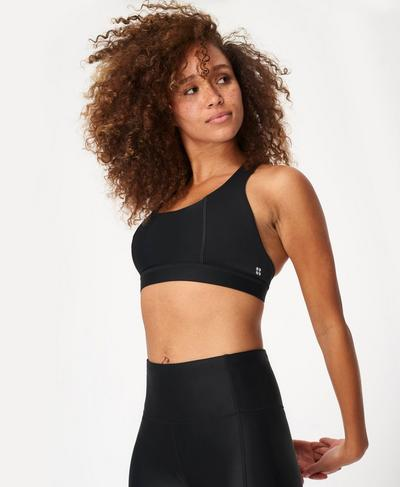 Circuit Sports Bra, Black | Sweaty Betty