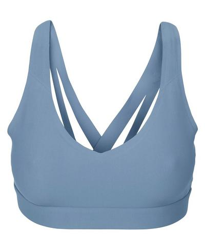 Daydreamer Yoga Bra, Stellar Blue | Sweaty Betty