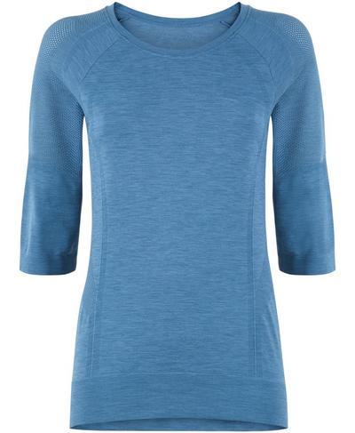 Dharana Yoga T-shirt, Stellar Blue | Sweaty Betty