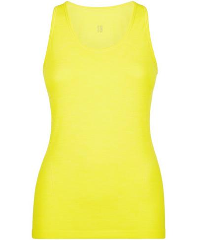 Athlete Seamless Workout Tank, Canary Yellow | Sweaty Betty