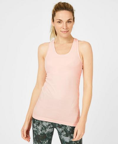 Athlete Seamless Tank, Liberated Pink | Sweaty Betty