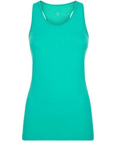 Athlete Seamless Workout Tank, Lime Gello Green | Sweaty Betty